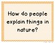 3rd Grade Reading Street 2013 Unit 3 Question of the Week