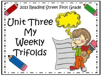 Reading Street 2013 Unit 3 Trifolds