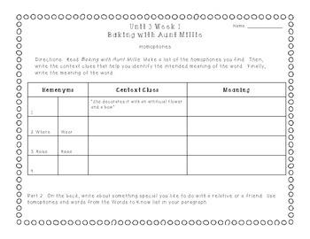 Reading Street 2013 Grade 3 Unit 3 Vocabulary Skill Practice