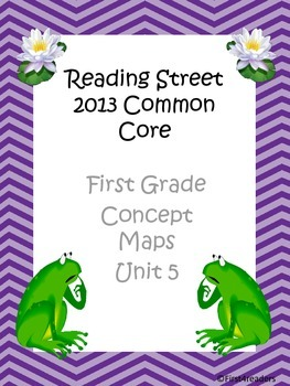Reading Street 2013 Unit 5 Concept Maps