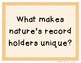 3rd Grade Reading Street 2013 Unit 4 Question of the Week