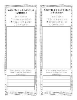 Reading Street 2013 Grade 3 Unit 4 Text Coding Bookmarks
