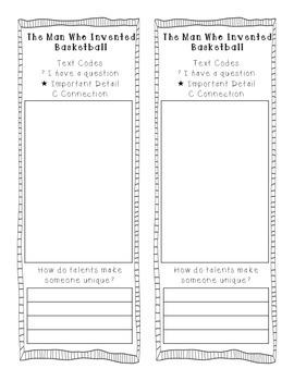 Reading Street 2013 Grade 3 Unit 4 Text Coding Bookmarks