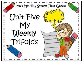 Reading Street 2013 Unit 5 Trifolds