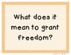 3rd Grade Reading Street 2013 Unit 6 Question of the Week
