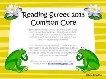 Reading Street 2013 Unit R Concept Maps