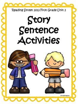 Reading Street 2013 Unit 2 Sentence Activities