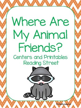 Centers and Printables For All Ability Levels, Where Are My Animal Friends?