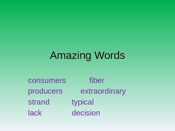 Reading Street 2.3 Vocabulary