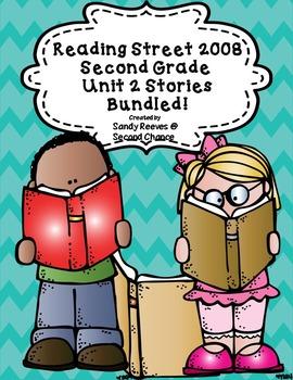 Reading Street 2nd Grade 2008 Unit 2 Stories Bundled!
