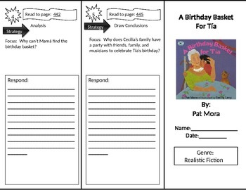 Reading Street 2nd Grade A Birthday Basket for Tia Trifold