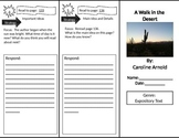 Reading Street 2nd Grade A Walk in the Desert Trifold