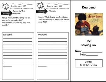 Reading Street 2nd Grade Dear Juno Trifold
