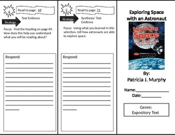 Reading Street 2nd Grade Exploring Space Trifold