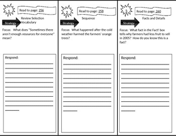 Reading Street 2nd Grade Scarcity Trifold