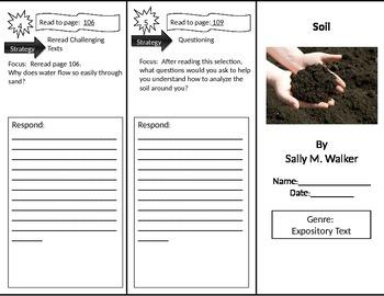 Reading Street 2nd Grade Soil Trifold