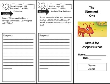 Reading Street 2nd Grade The Strongest One Trifold