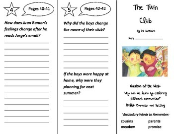 Reading Street 2nd Grade Trifolds Bundle - Whole Year