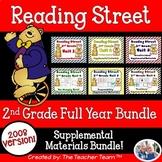 Reading Street 2nd Grade Unit 1-6 Full Year Supplemental Materials 2008 Bundle