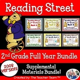 Reading Street 2nd Grade Unit 1-6 Full Year Supplemental Materials 2008 Bundle