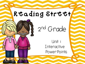 Reading Street, 2nd Grade, Unit 1, Interactive PowerPoints