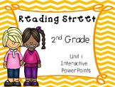 Unit 1, PowerPoints, Reading Street, 2nd Grade Student Engagement