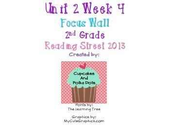 Reading Street 2nd Grade Unit 2 Week 4 Focus Wall