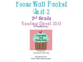Reading Street 2nd Grade Unit 2 Weeks 1-5 Focus Wall Bundle