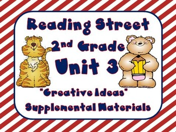 Reading Street 2nd Grade Unit 3 Supplemental Materials