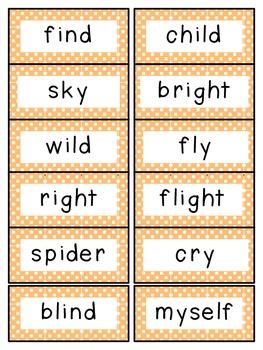 Reading Street 2nd Grade Unit 3 Spelling Words