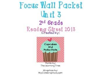 Reading Street 2nd Grade Unit 3 Weeks 1-5 Focus Wall Bundle