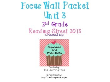 Reading Street 2nd Grade Unit 3 Weeks 1-5 Focus Wall Bundle