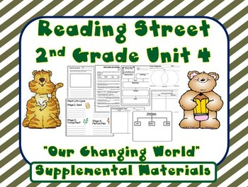 Reading Street 2nd Grade Unit 4 Supplemental Materials