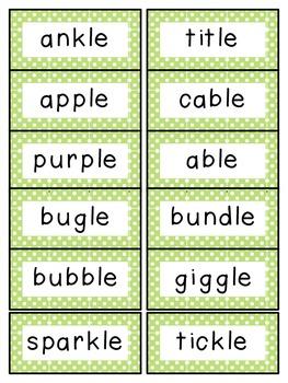 Reading Street 2nd Grade Unit 4 Spelling Words