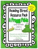 A Froggy Fable Reading Street Resource Pack 2nd Grade Unit