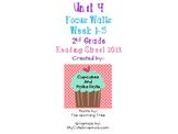 Reading Street 2nd Grade Unit 4 Weeks 1-5 Focus Wall Bundle