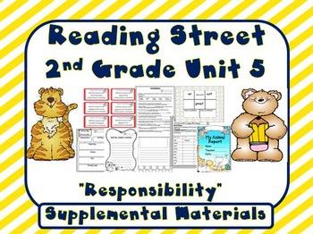 Reading Street 2nd Grade Unit 5 Supplemental Materials 2008 version
