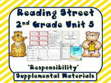 Reading Street 2nd Grade Unit 5 Printables | 2008