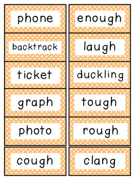 Reading Street 2nd Grade Unit 5 Spelling Words