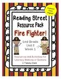 Fire Fighter Reading Street Resource Pack 2nd Grade Unit 5 Week 1