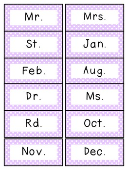Reading Street 2nd Grade Unit 6 Spelling Words