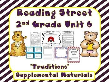 Reading Street 2nd Grade Unit 6 Supplemental Materials