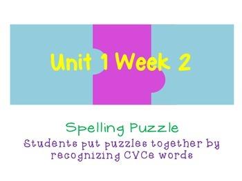 Reading Street 2nd grade Unit 1 Week 2 Spelling Puzzle