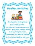 Reading Street Workshop 2nd grade Unit 5