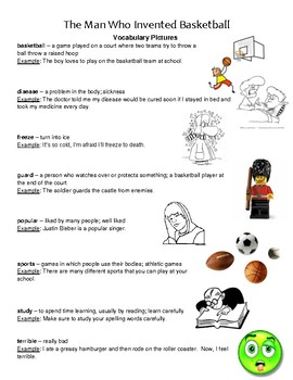 Reading Street 3.2 Vocabulary Handouts, Definitions, and Sentences