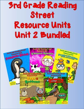Reading Street 3rd Grade Unit 2 Stories Bundled! Penguin Chick and More!