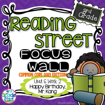 Reading Street 3rd Grade 2013 Focus Wall Set Unit 6 Week 2