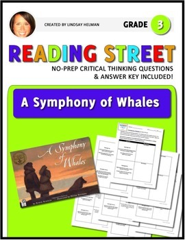 Reading Street 3rd Grade: A Symphony of Whales [NO PREP Co