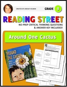 Reading Street 3rd Grade: Around One Cactus [NO PREP Comprehension Packet]