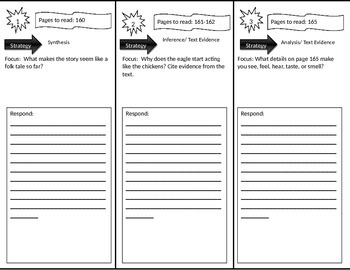 Reading Street 3rd Grade Fly, Eagle, Fly Trifold